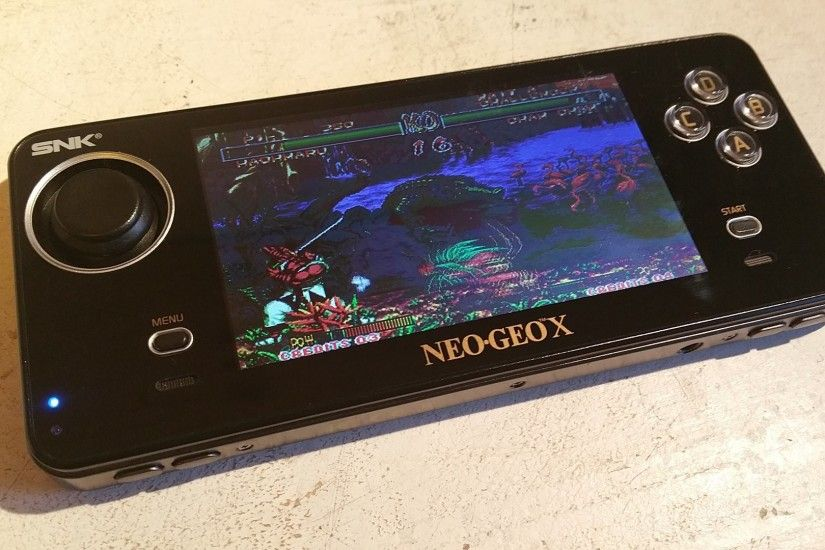 ... Neo Geo X Gold (NGX) Limited Edition [Boxed] + Mega Pack Vol ...