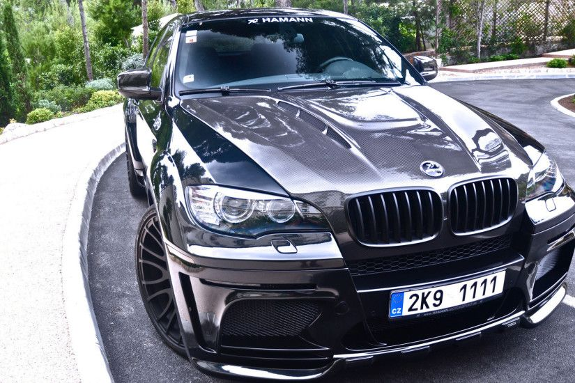 Front view of a Hamann BMW X6 wallpaper