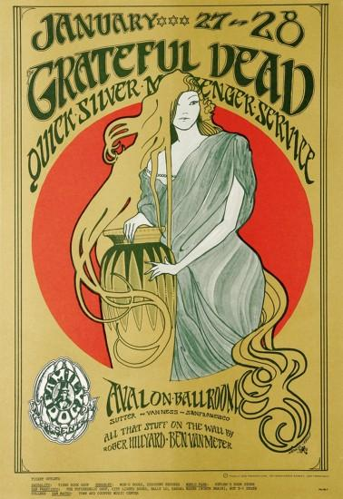 Grateful Dead Poster--I'll never forget when I got this,,