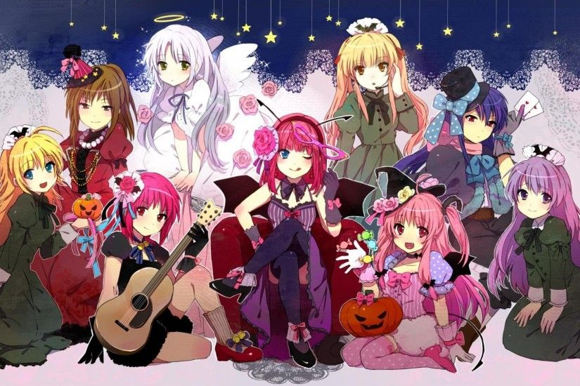 Angel Beats! wallpapers halloween
