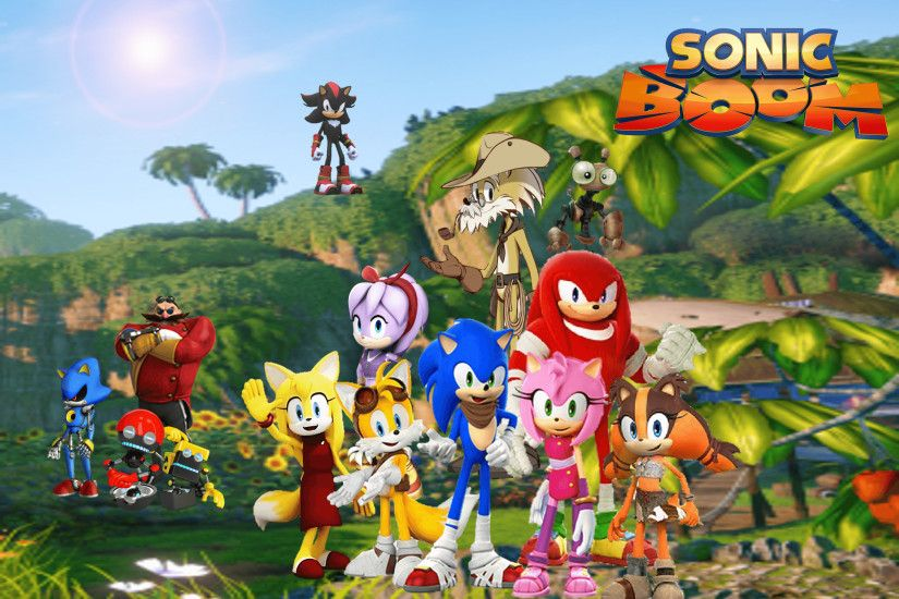 Sonic Boom Wallpaper by 9029561 on DeviantArt