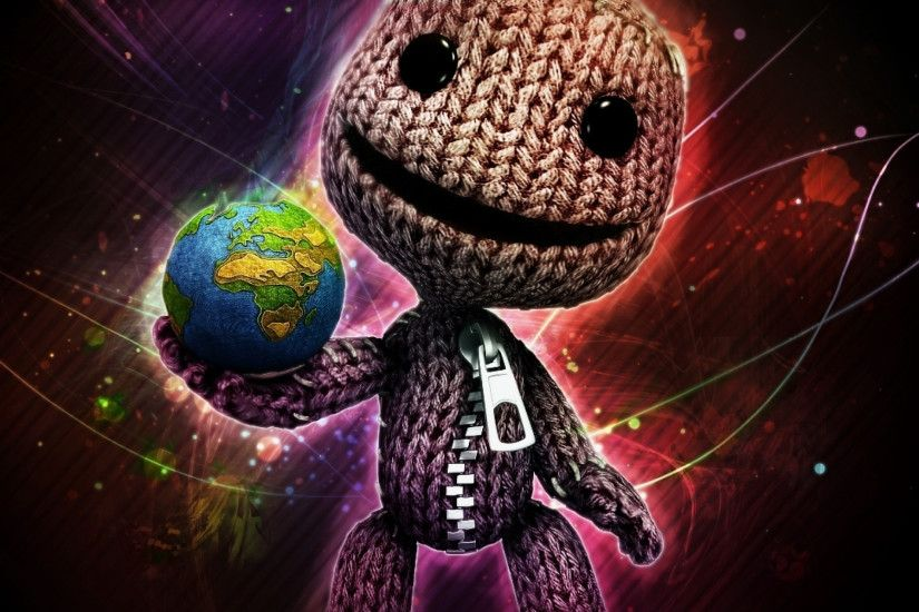 2048x2048 Wallpaper littlebigplanet, lbp, little big planet, sackboy, doll