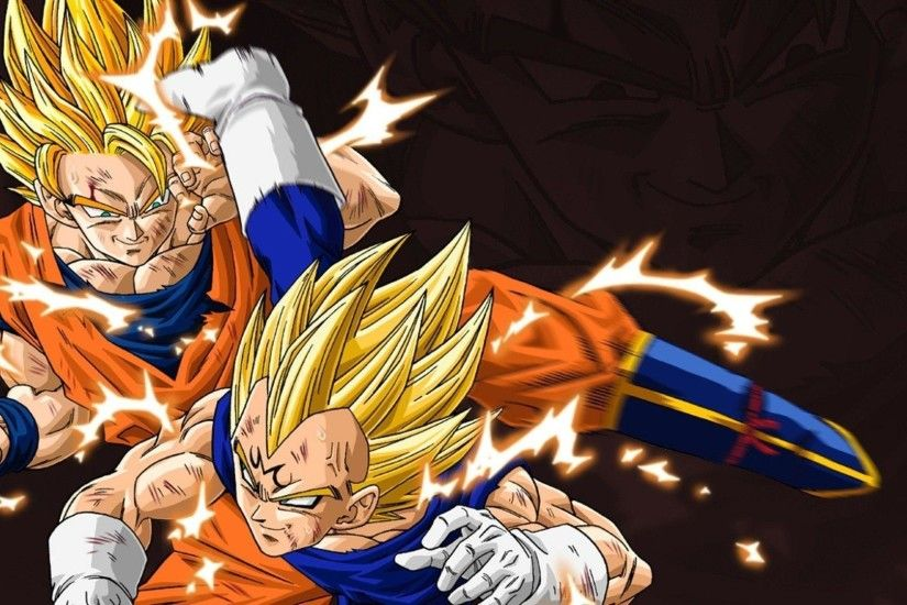 Vegeta and Goku - Dragon Ball Z wallpaper - Anime wallpapers - #