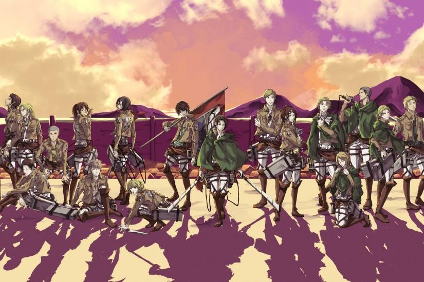 Amazing Attack On Titan Background.