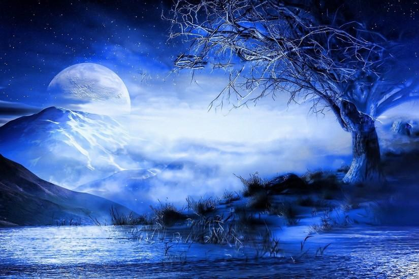 widescreen moon background 1920x1200 for windows