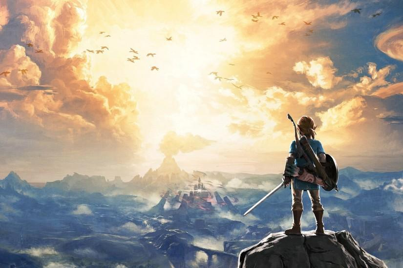 cool zelda breath of the wild wallpaper 1920x1080