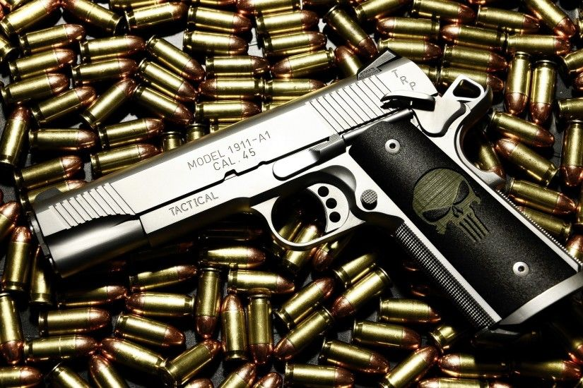 Best Gold Guns Wallpaper HD 9201