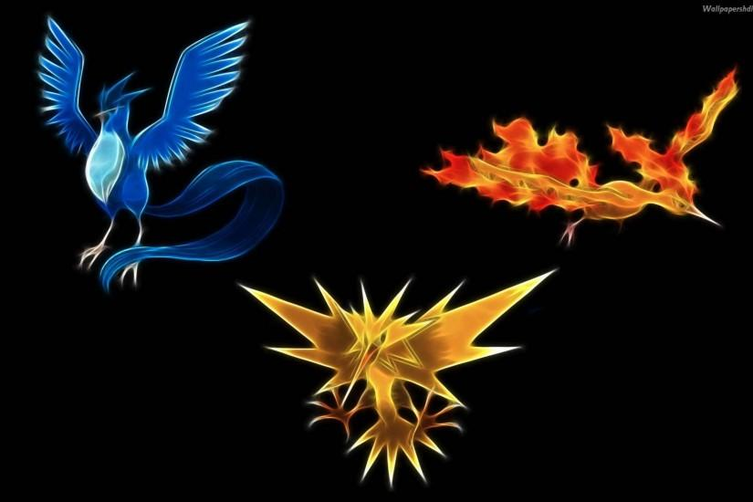 3 legend bird - Pokemon Wallpaper