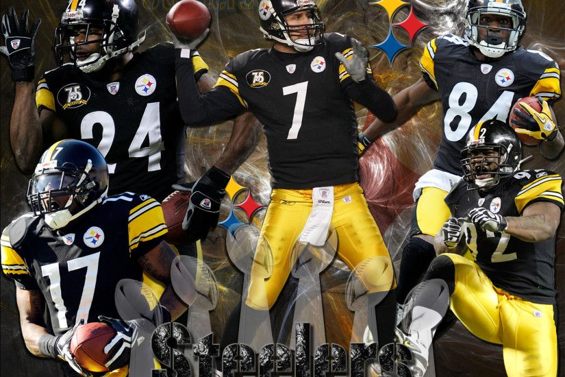4x3 Standard | 16x9 Widescreen | 16x10 Widescreen Pittsburgh Steelers Team  Wallpaper ...