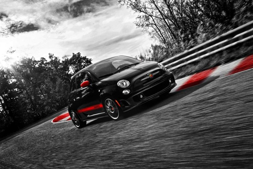 500 Abarth. Fiat on wallpapers ...