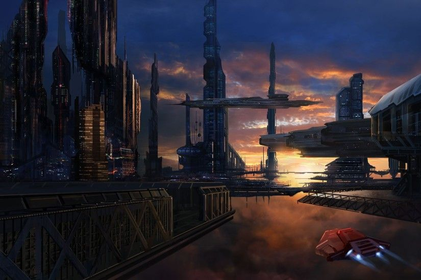 6 (40 Absolutely Amazing Science Fiction Wallpapers)