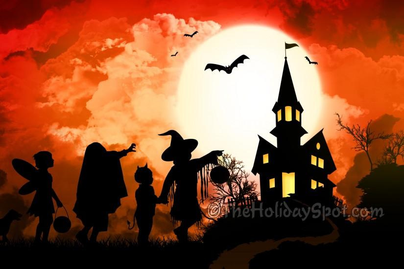 free cute halloween wallpaper 2560x1600 for pc