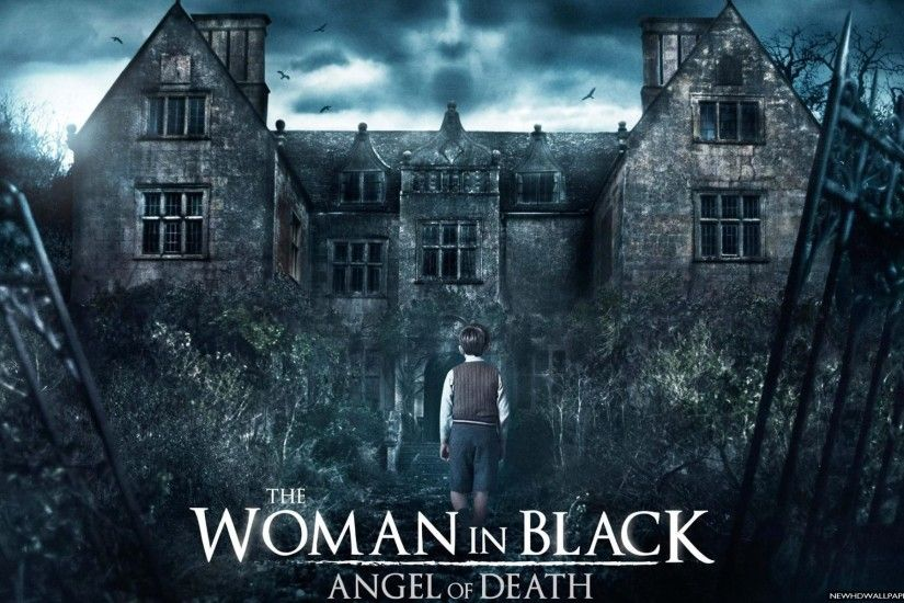 The Woman in Black Angel of Death 2015 Wallpaper