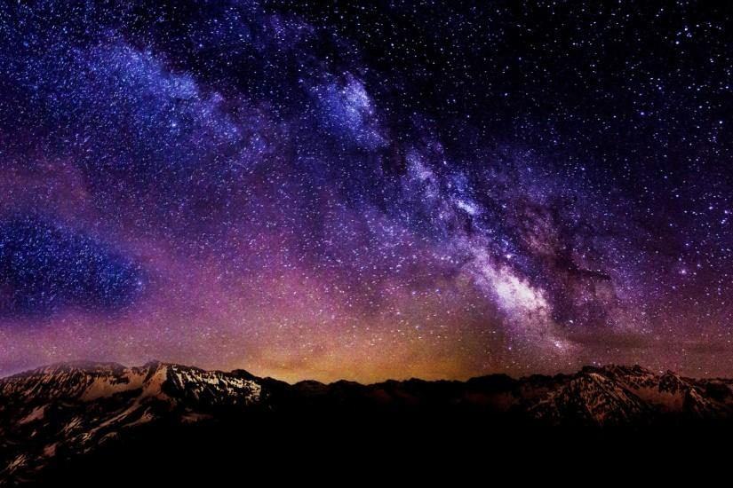 widescreen starry night background 1920x1080 screen