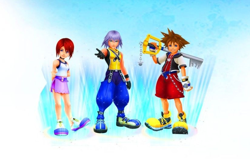 ... Kingdom Hearts HD 1.5 Remix Wallpaper by LadyLionhart