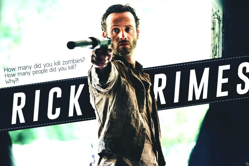 Rick Grimes Wallpaper by fydizayn Rick Grimes Wallpaper by fydizayn
