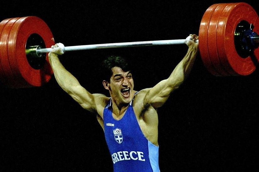 Gallery images and information: Olympic Weight Lifting Wallpaper