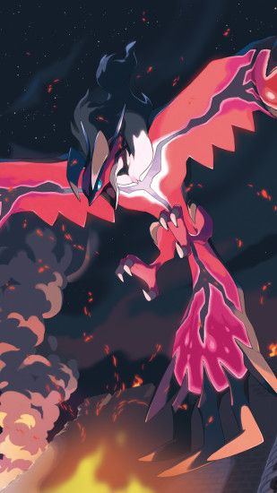 Video Game Pokemon Pokémon Yveltal Mobile Wallpaper