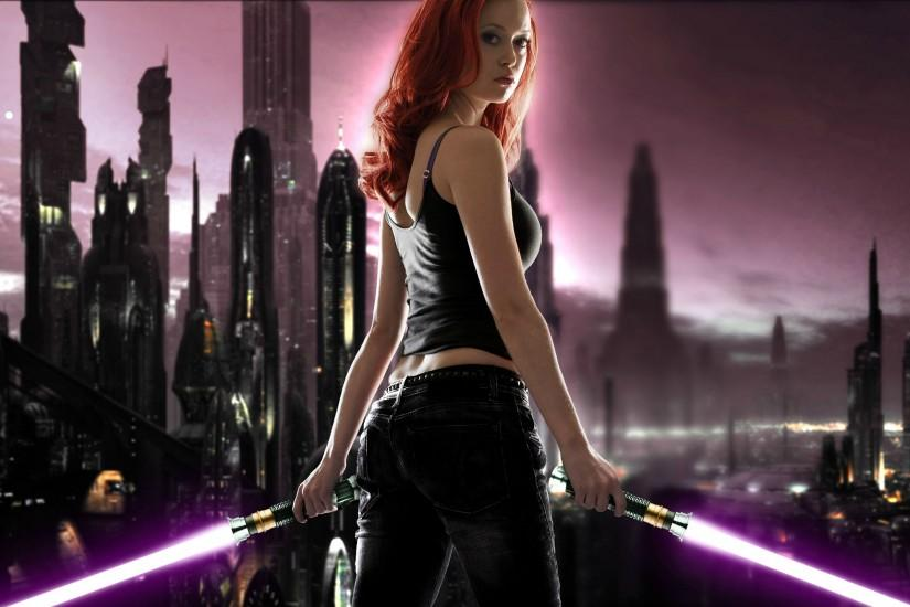 Star Wars - Mara Jade Wallpaper - Summer-Glau.com