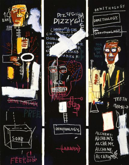 ... Basquiat's Horn Players ...