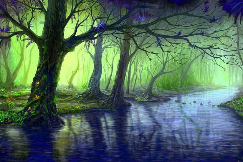 wallpaper.wiki-Enchanted-Forest-Images-1920x1200-PIC-WPB006583