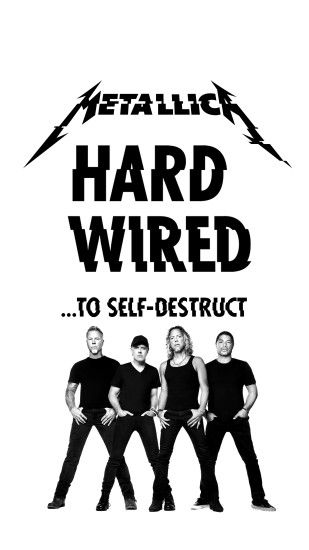 "for wallpaper smartphone 5"" #metallica #hardwired"