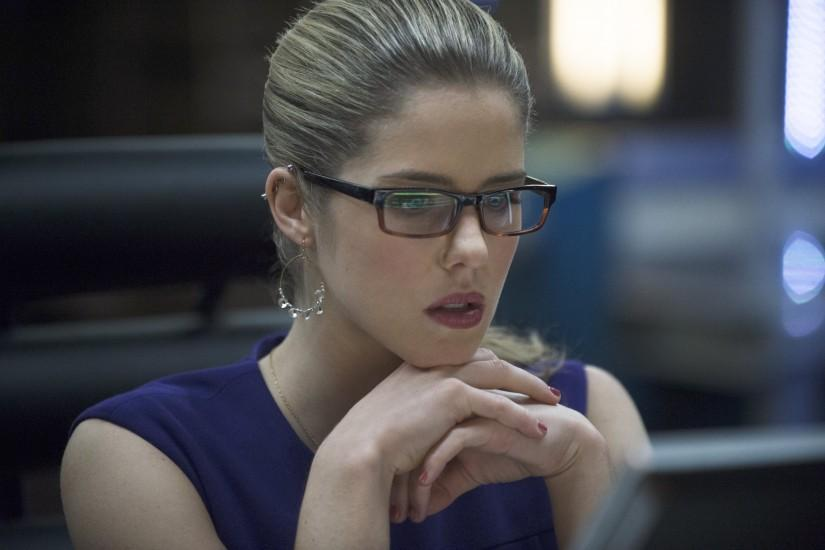 "Arrow -- ""Seeing Red"" -- Image -- Pictured: Emily Bett Rickards as Felicity  Smoak -- Photo: Cate Cameron/The CW -- © 2014 The CW Network, LLC."