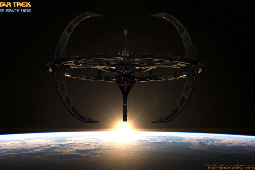 Deep Space Nine Terok Nor - free Star Trek computer desktop wallpaper,  pictures,
