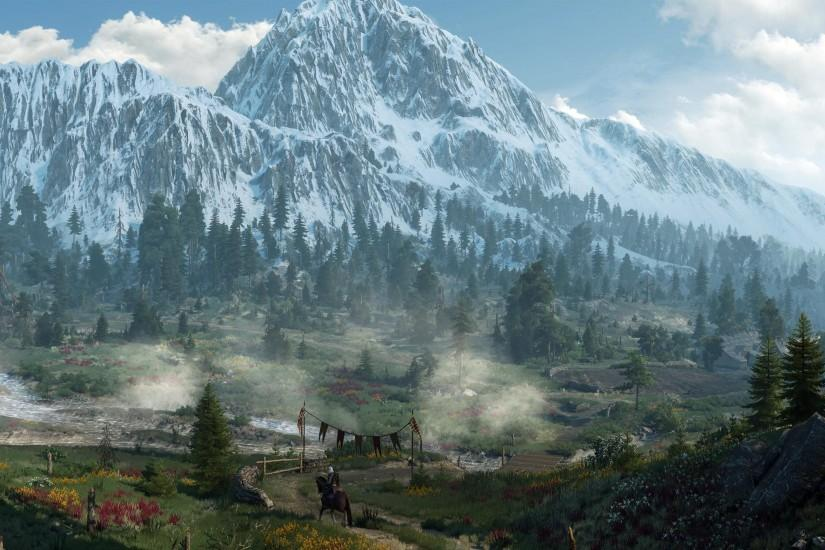 ultrawide, Landscape, Nature, Photography, The Witcher, The Witcher 3: Wild  Hunt Wallpaper HD