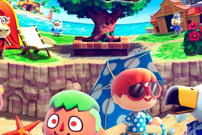 animal crossing wallpaper 3840x1200 lockscreen