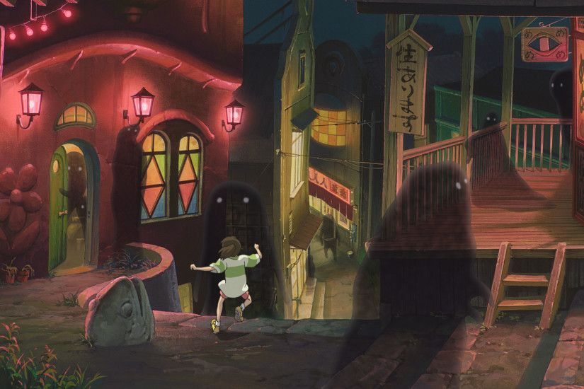 La città incantata | Studio Ghibli · Spirited AwayNot Them  MiyazakiWallpaper BackgroundsCar ...