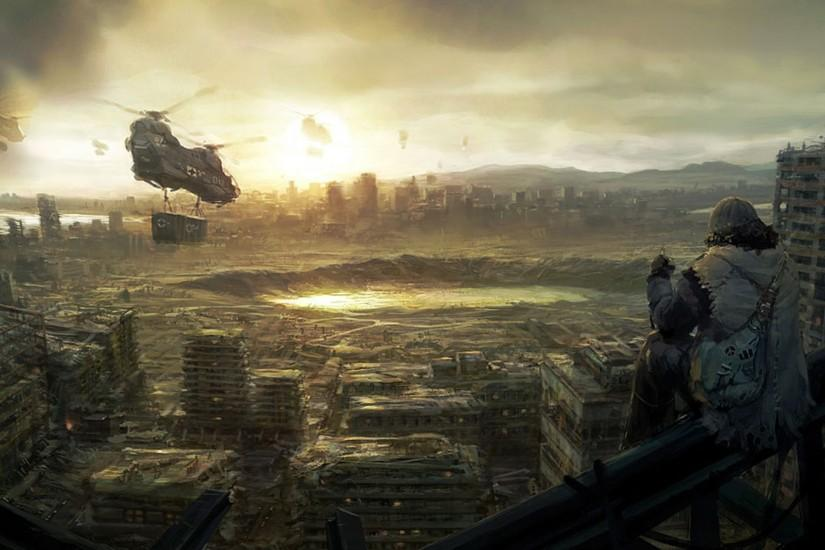 Post-Apocalyptic Wallpaper Dump*.