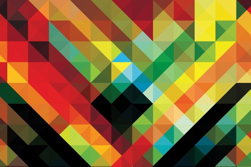 africa Hitech, Andy Gilmore, Geometry, Colorful, Abstract, Pattern  Wallpapers HD / Desktop and Mobile Backgrounds