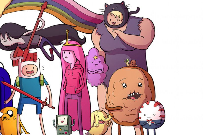 2048x2048 Wallpaper adventure time with finn & jake, jeremy shada, finn,  john di
