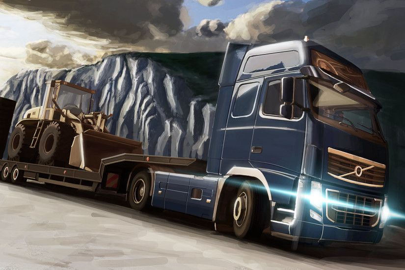 10 Euro Truck Simulator 2 HD Wallpapers | Backgrounds - Wallpaper Abyss