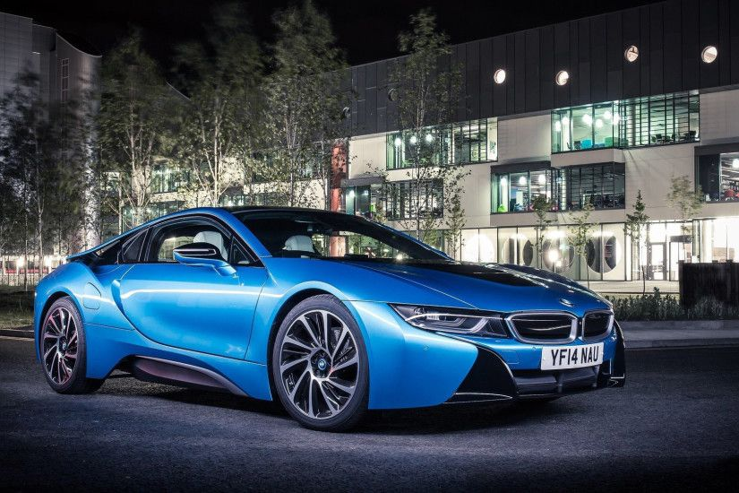 BMW i8 blue car photo car hd wallpapers 1080p