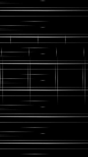 2160x3840 Wallpaper black background, stripes, black and white, minimalist