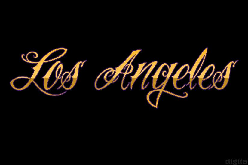 Los Angeles Wallpaper Lakers
