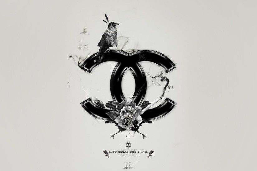 ... Wide 16 10 Source Coco Chanel Logo Wallpaper 61 images