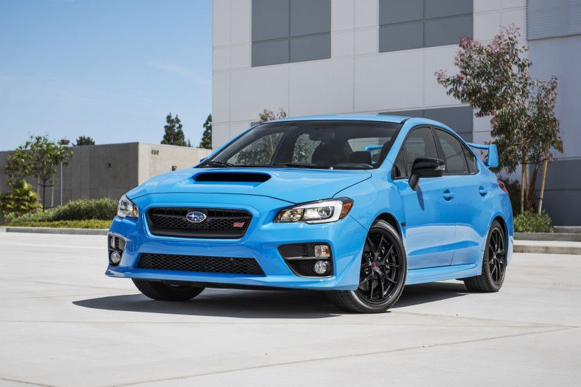 Preview wallpaper subaru, wrx, sti, side view 2560x1440