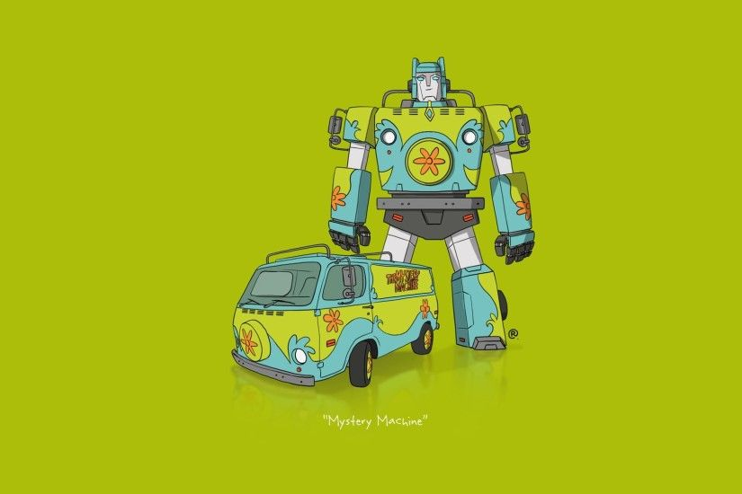 car, Transformers, Minimalism, Scooby Doo Wallpapers HD / Desktop and  Mobile Backgrounds