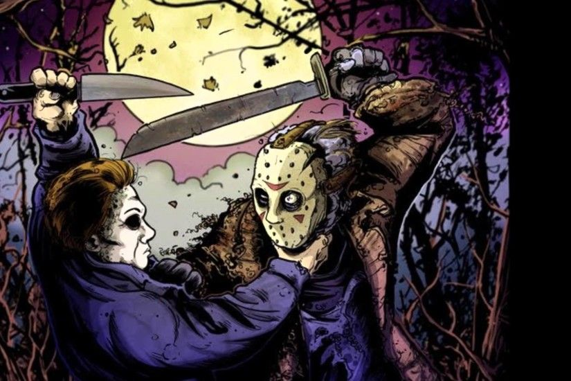 michael myers vs jason voorhees theme must watch - YouTube