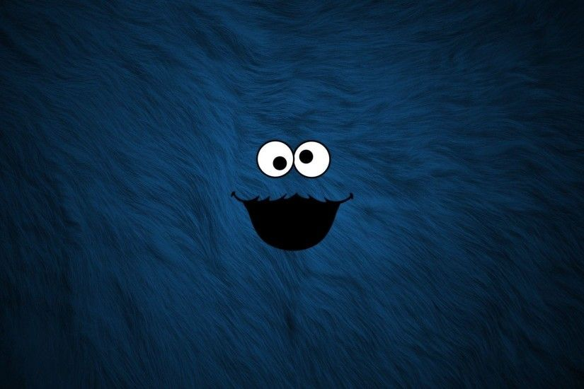 Pix For > Cute Cookie Monster Wallpaper Hd