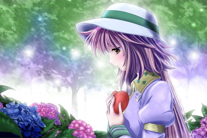 Anime Girl in Love Wallpapers Pictures Photos Images