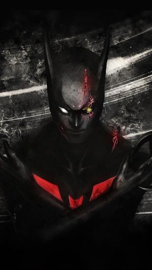 Click here to download 1080x1920 pixel Batman Beyond Android Best Wallpaper