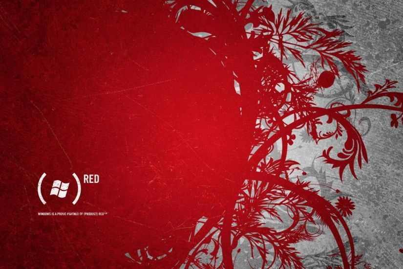 Dell XPS One (Product) RED Bloom Wallpaper
