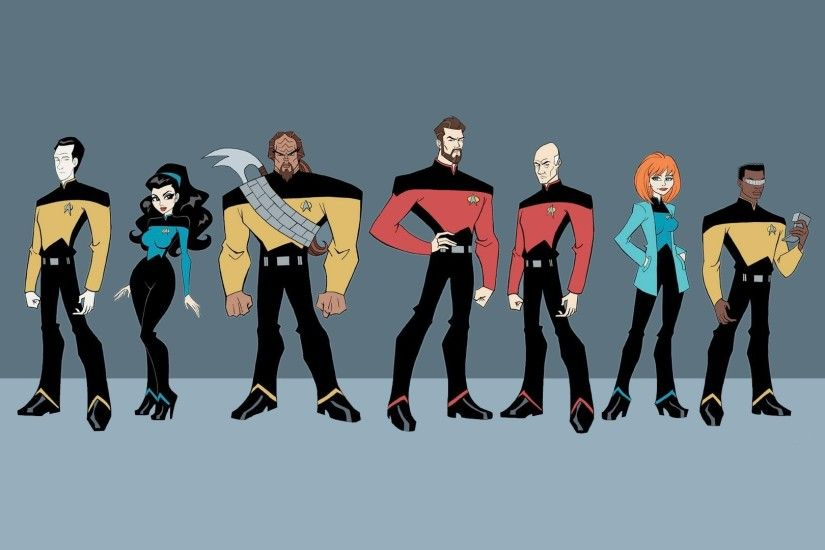 ... Artwork Beverly Crusher Data Deanna Troi Geordi La Forge Jean-Luc  Picard Riker Science Fiction Series Simplistic Star Trek The Next Generation  TV Worf