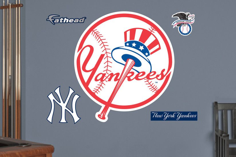 Fathead New York Yankees circle Logo Wall Decals