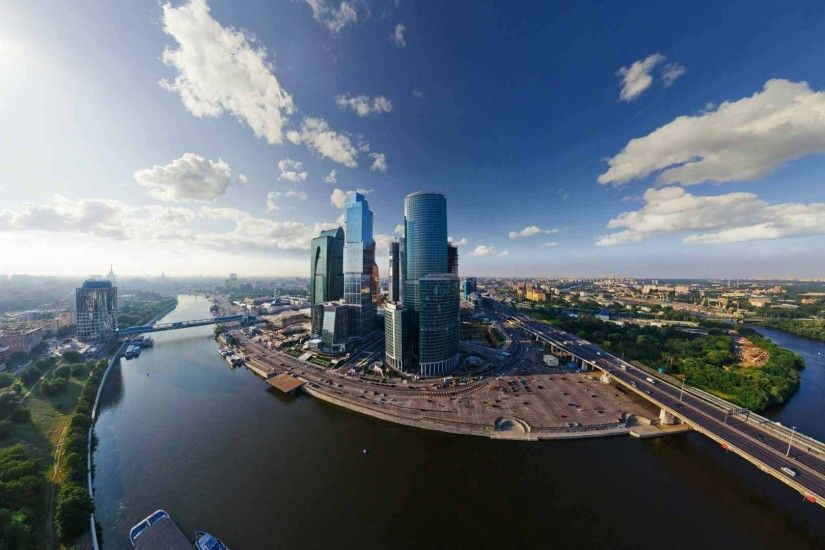 Amazing view of moscow