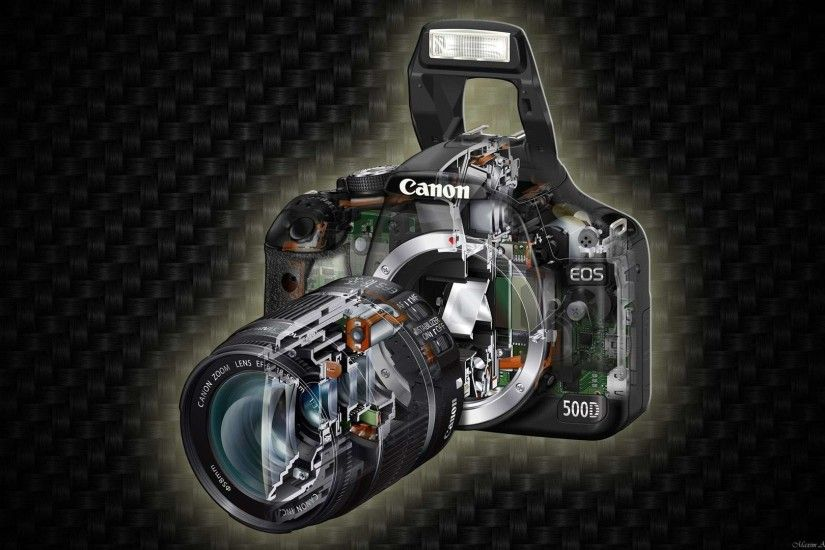 Canon EOS 500D Inside Out HD Wallpaper. « »